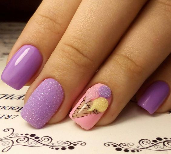 35 Cute Nail Art Design And Ideas For Teens Gorgeous Nails Easy