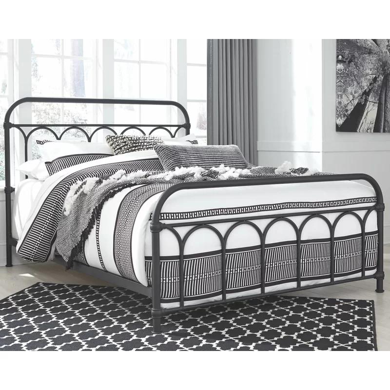 Queen Metal Bed Beds, Wayfair Metal Bed Frames Queen