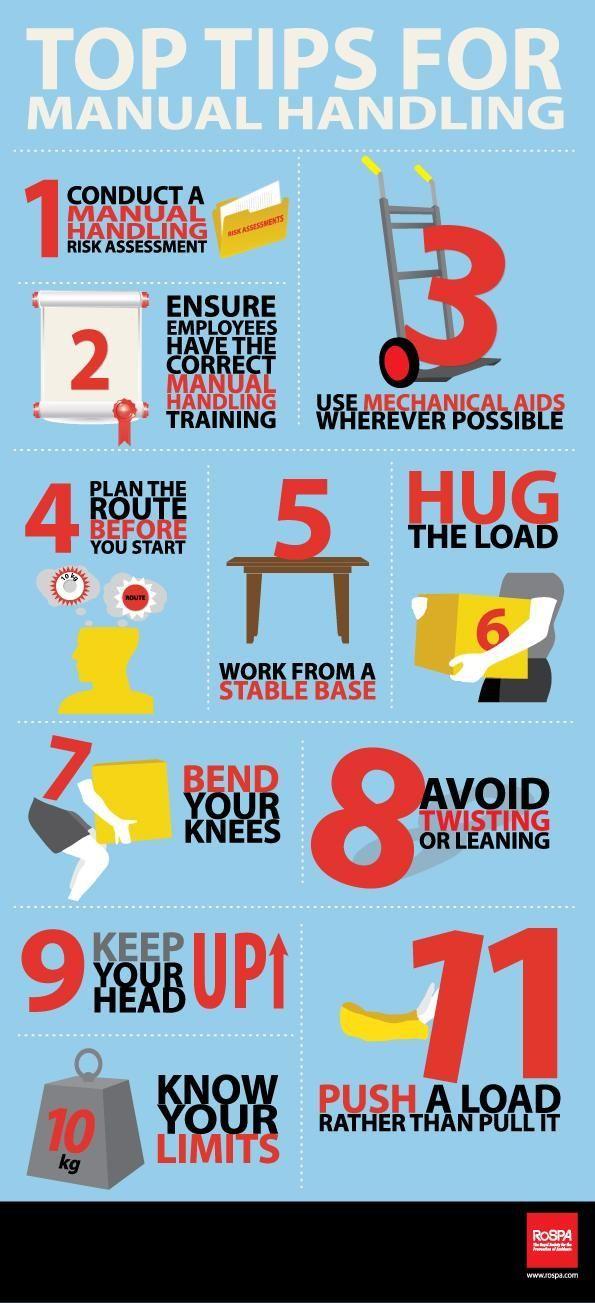 Top Tips For Manual Handling HttpThevirtualentrepreneurCoUk