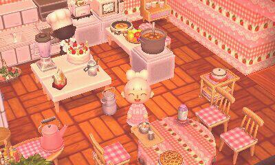 Kitchen Island Acnl kitchen/cafe for animal crossing! | {acnl} | pinterest | animal