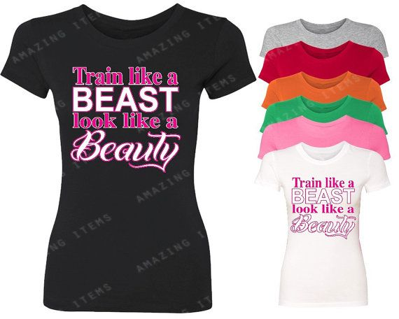 Hey, I found this really awesome Etsy listing at https://www.etsy.com/listing/238458426/train-like-a-beast-look-like-a-beauty