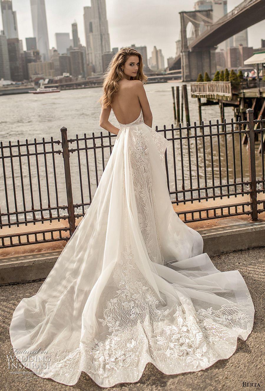 Berta Spring 2018 Wedding Dresses — Campaign Photos | Spitzen ...