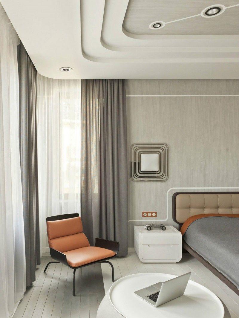 retrofuturismnikolay tsupikov  bedroom interior