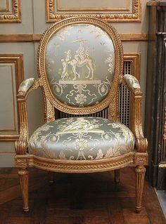Armchair (part of a set) Louis Delanois (French, 1731–1792) Date: ca. 1770–75 Culture: French (Paris)