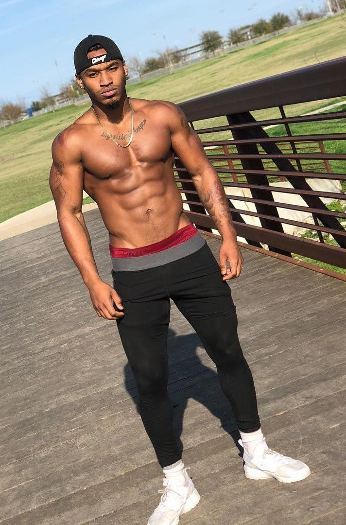 sexy naked black male