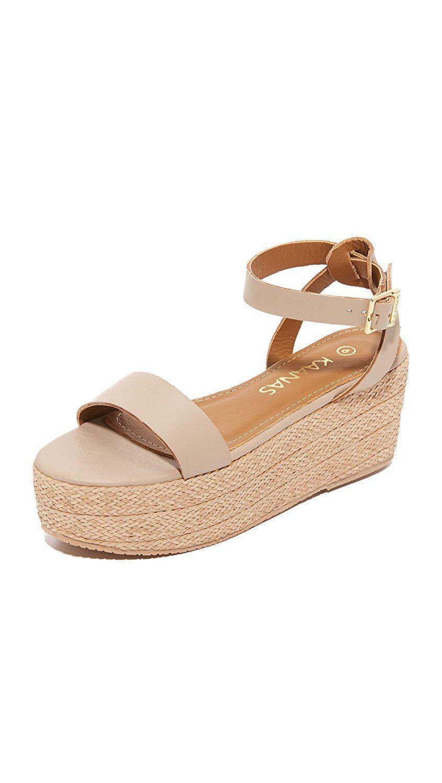 74d226cec5e KAANAS Women s Seshat Platform Espadrille Sandals
