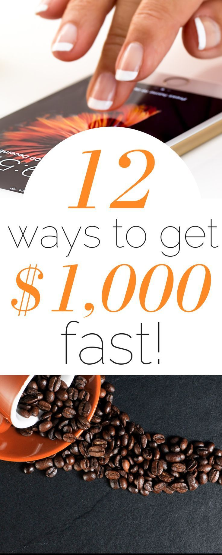 12 Ways to Save Over $1,000 Fast for Your Emergency Fund #startsavingmoney
