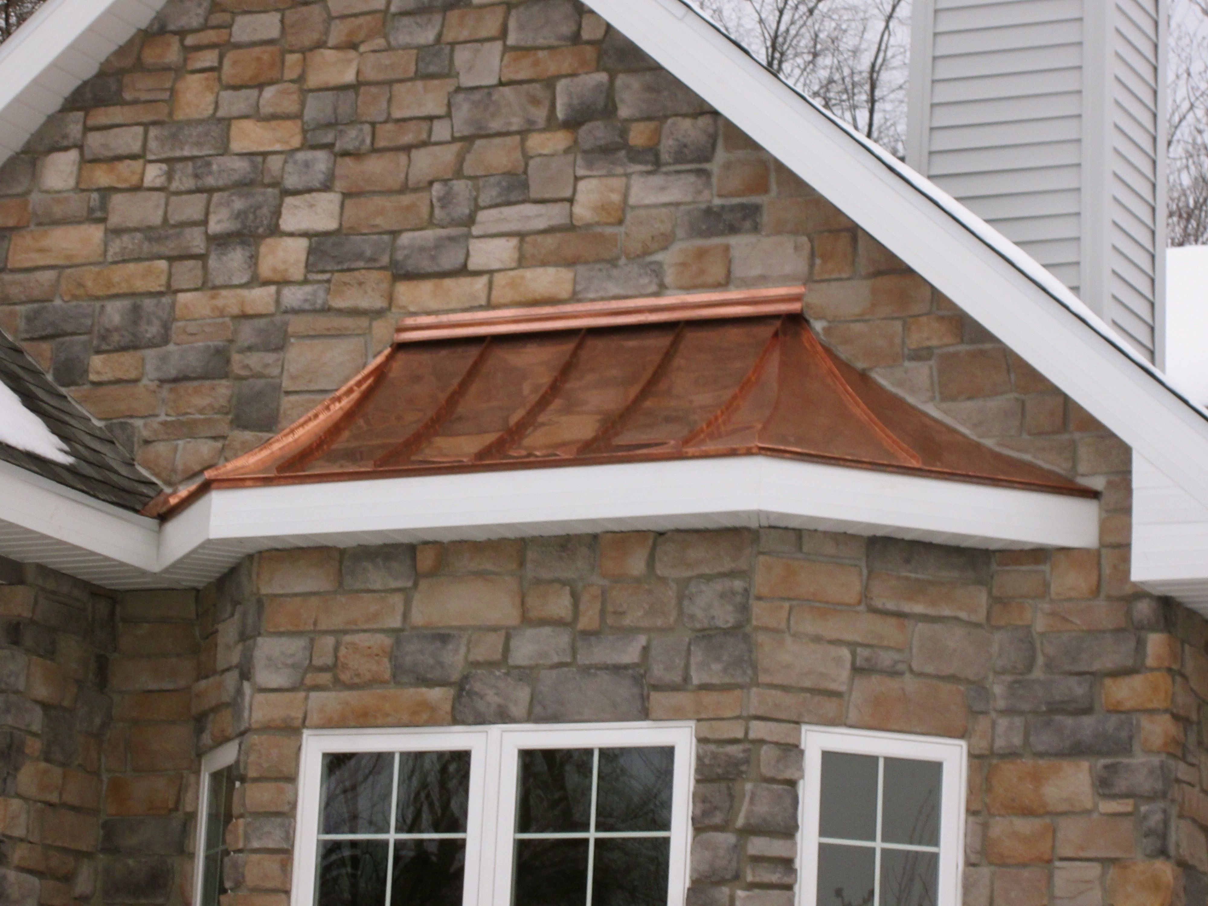 fitchburg copper bay window roof copper roof window and bay windows fitchburg copper bay window roof