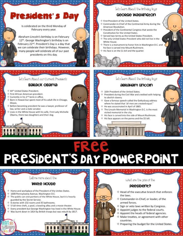 presidents day powerpoint presentation free fourthgradefriends com