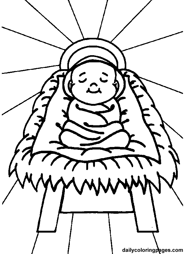 FRUITS OF THE SPIRIT - 2. Joy - Send home coloring page of baby ...