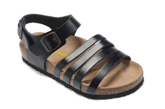 b01d7f52c98d Women s Birkenstock Almeria Sandals Oiled Leather Black
