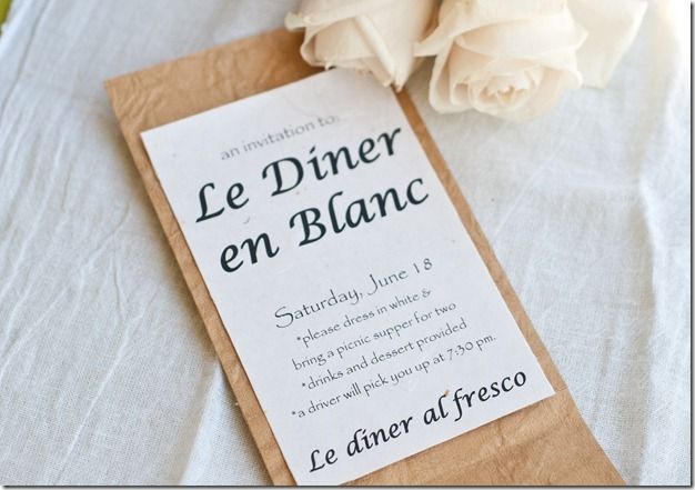 Diner En Blanc Party Ideas Pinterest Diner En Blanc Diners