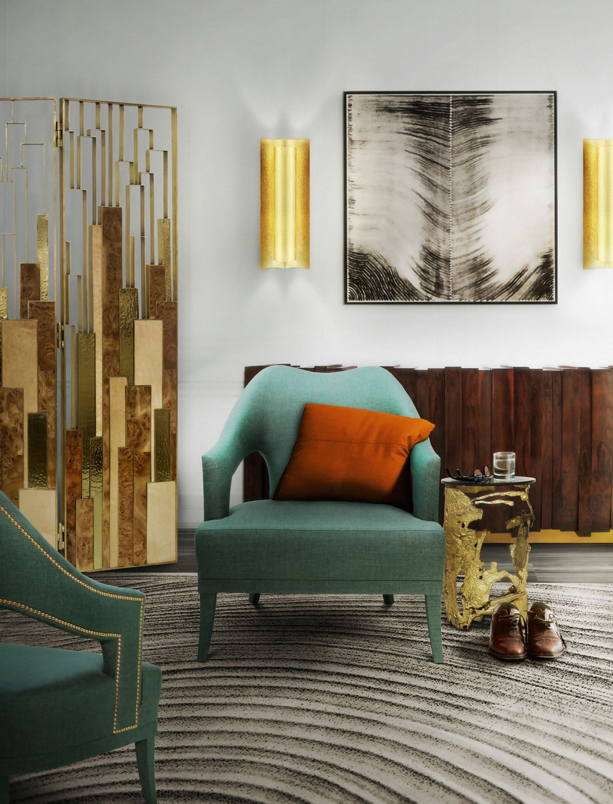 Design Chairs For Living Room Impressive Davis Bar Chair Mid Century Modern Designbrabbu Is Easily 2018