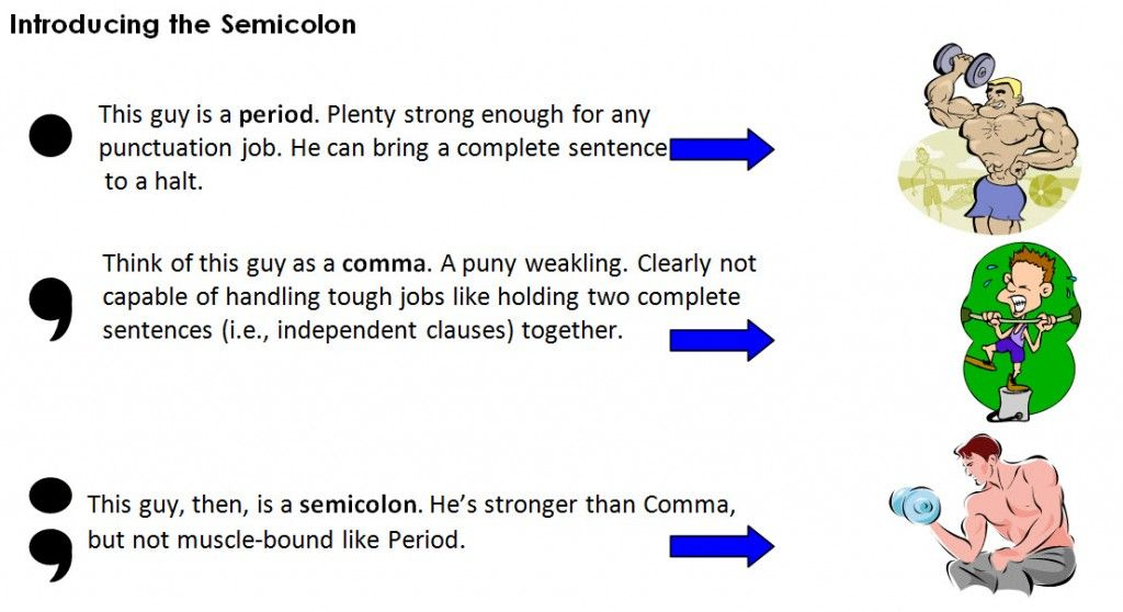 How to use a semicolon properly writing conventions