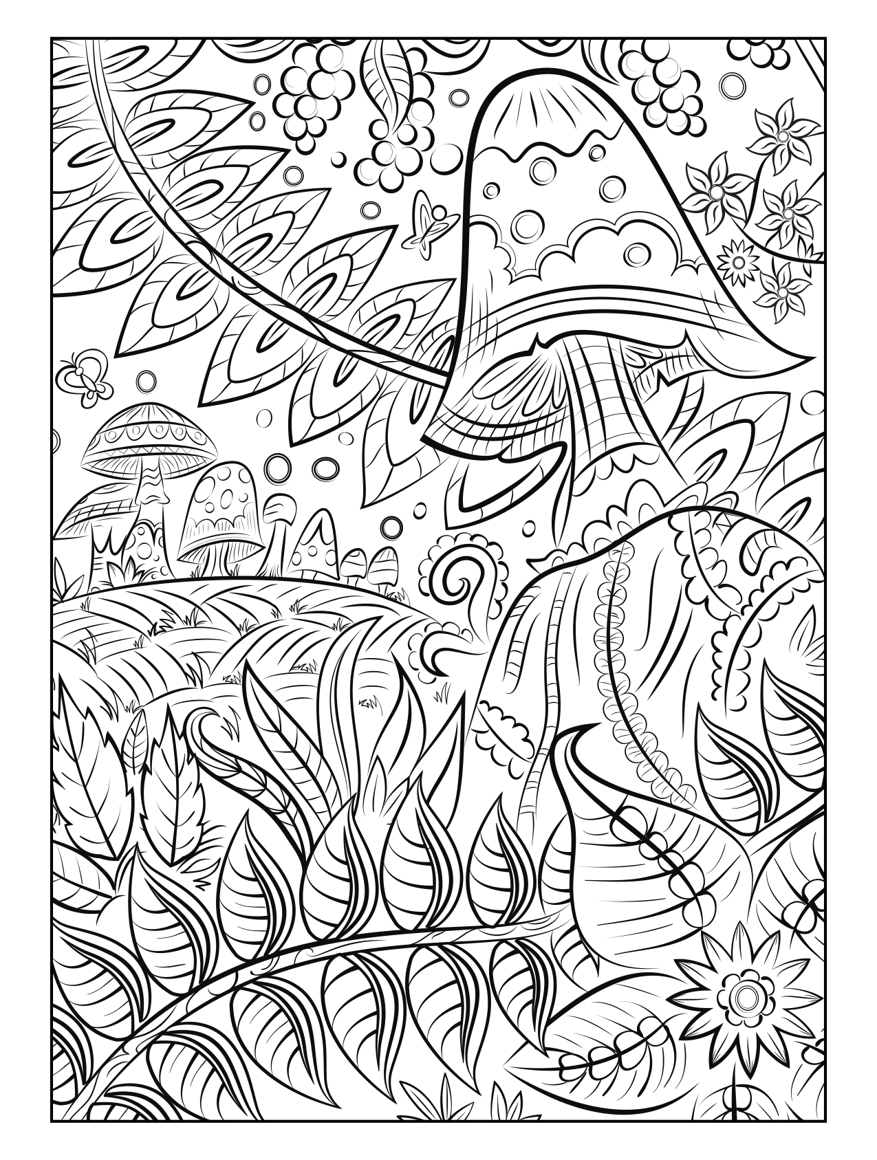 Choose From A Variety Of Free Coloring Pages From Our Coloring Book Magical Gardens Freeprintable Color Gardens Coloring Book Coloring Books Coloring Pages