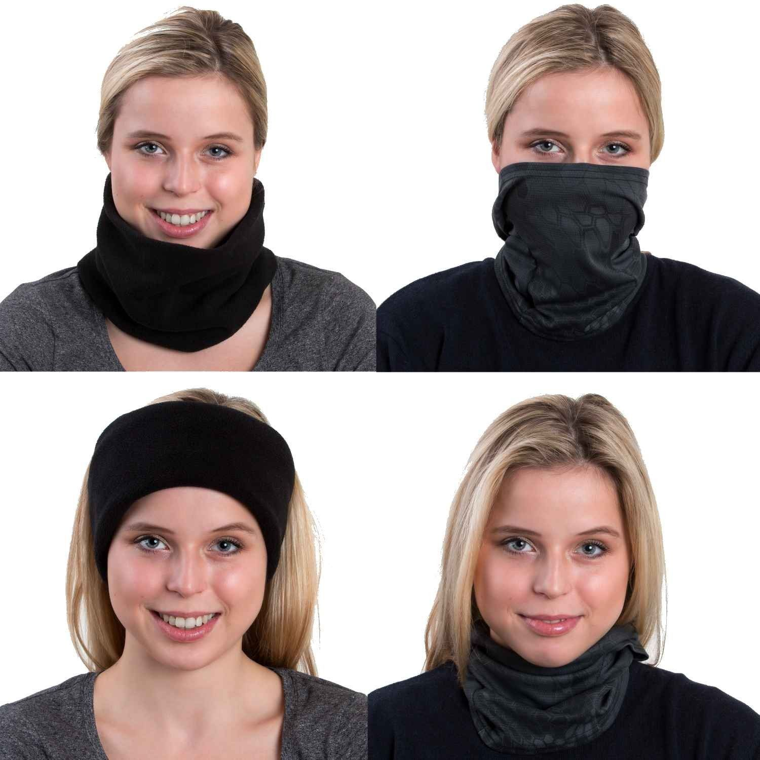Ski Face Mask with Neck Warmer Best Running