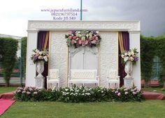 Konsep Dekorasi Pelaminan Garden Putih Minimalis Romantis