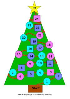 Christmas Tree Game Printable Christmas Games Christmas Games Christmas Tree Game