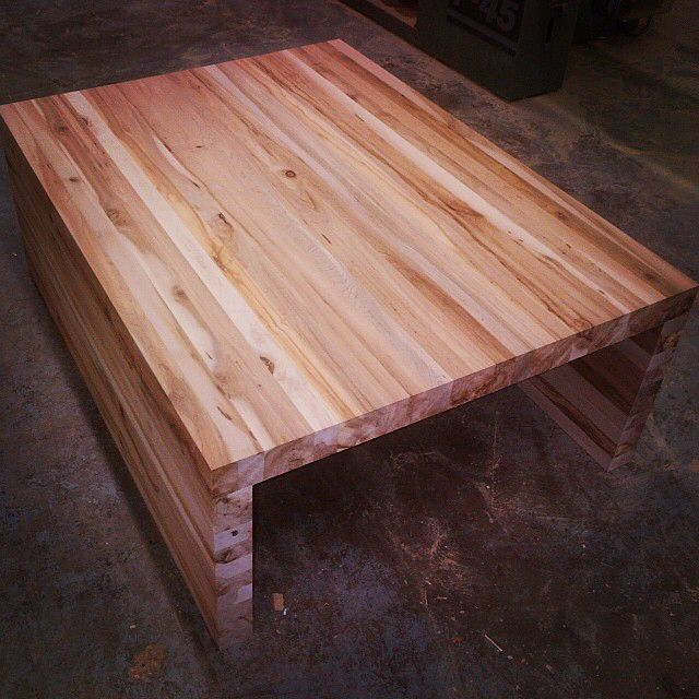 Reclaimed Wood Coffee Table. Made From Wormy Maple From Old Skids. Wormy  Maple,