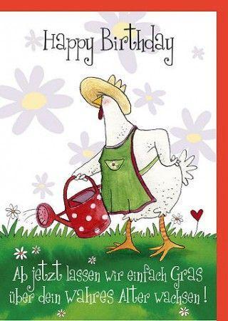 Lustige Sprüche Geburtstagskarte