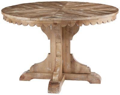 Magnolia Home Top Tier Pedestal Table Salle 224 Manger