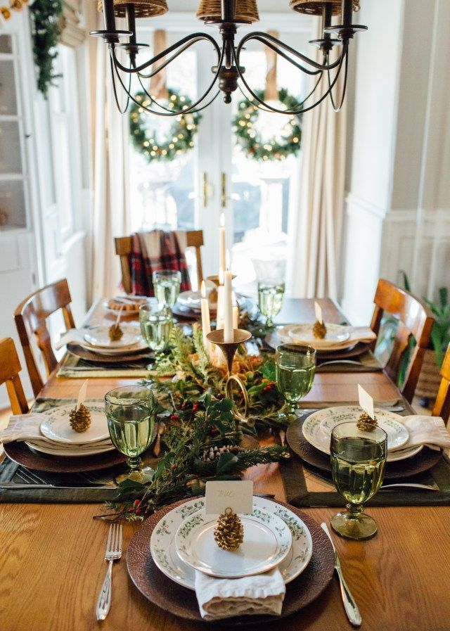 The Secondhand Table Tour of Christmas Tablescapes