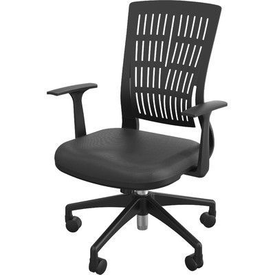Balt Fly Mid Back Conference Chair with Arms Upholstery:
