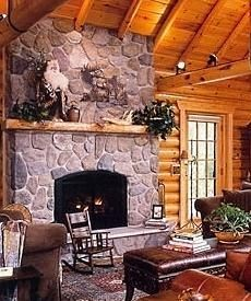 The Log Cabin Fireplace Warming Hearts For Centuries And Today