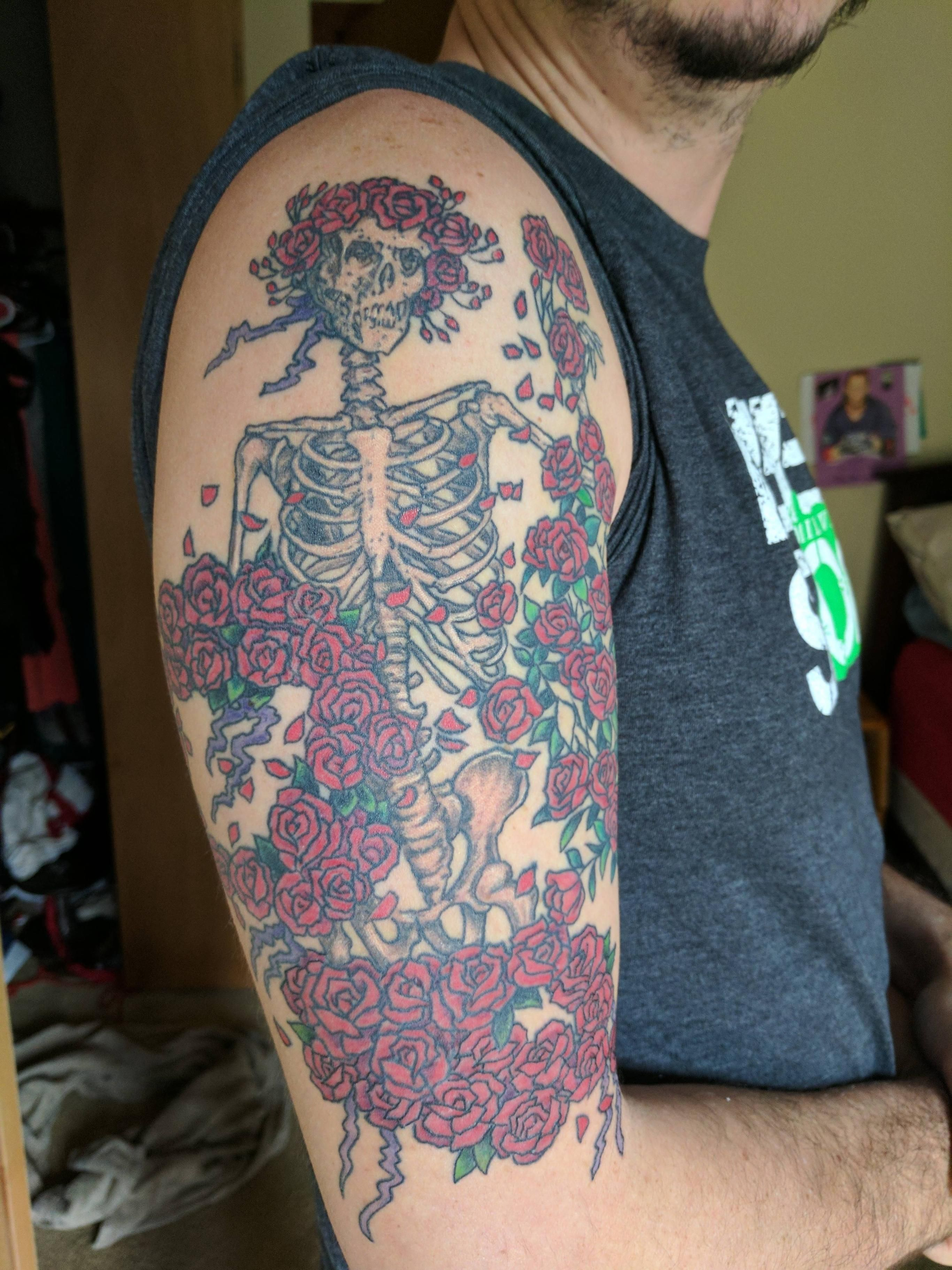 Forum on this topic: 50 Grateful Dead Tattoo Designs For Men , 50-grateful-dead-tattoo-designs-for-men/