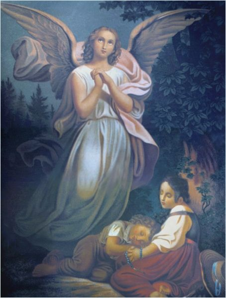 Guardian Angel Paintings Guardian Angel Famous