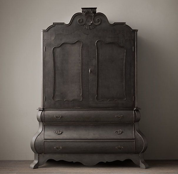 Dutch Merchants Chest Armoire. this would look bad ass in my room ...