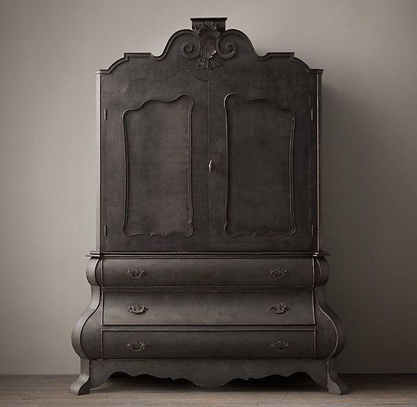 Dutch Merchantu0027s Chest Double Door Cabinet. Restoration HardwareTv Cabinets ArmoiresFurniture ...
