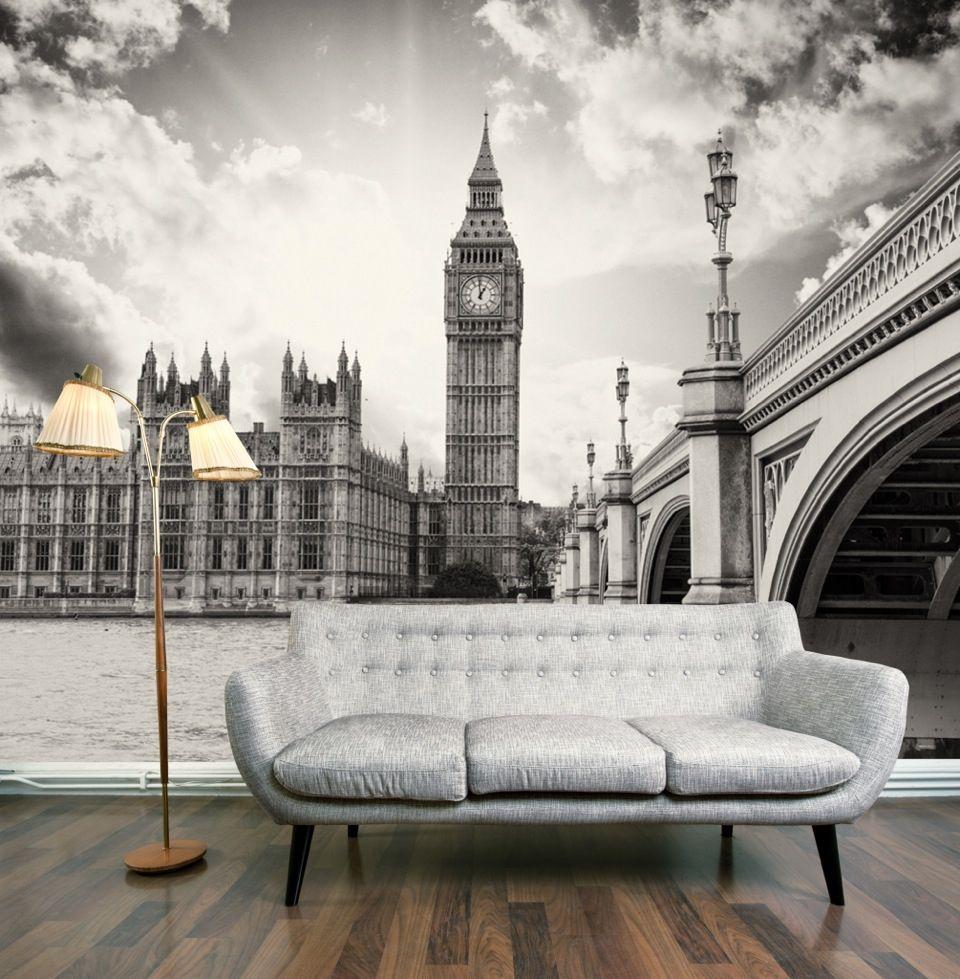 classic london wall mural interior design pinterest para el classic london wall mural