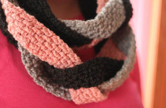 Knitting Scarf Patterns Infinity Scarf : Image result for infinity scarf projects pinterest crochet