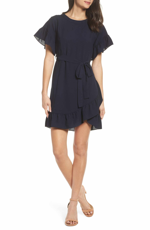 19 Cooper Ruffle Tie Waist Dress Dresses Nordstrom