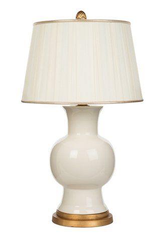 Emmy Table Lamp White Gold Bradburn Home Brands One Kings Lane Table Lamp Lamp Table Lamp Base