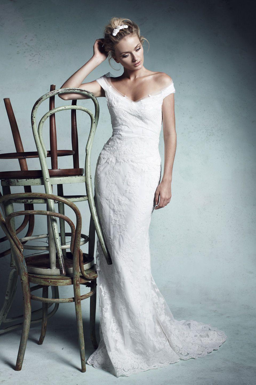 Os presentamos la bella colección de vestidos de novia de la firma ...