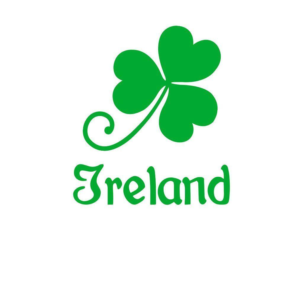 Robot Check Irish Car Wall Sticker Ireland Irish [ 1024 x 1024 Pixel ]
