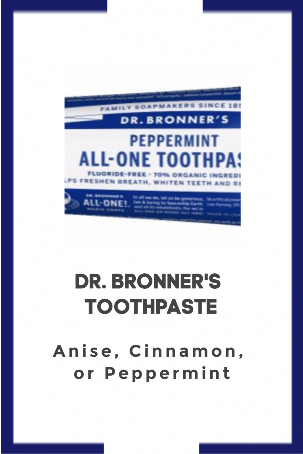 Dr. Bronner's Toothpaste in 2020 Oral care, Gum surgery