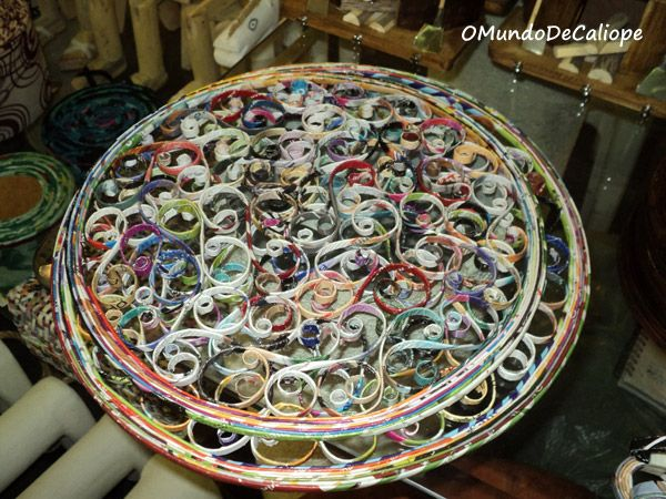 O Mundo de Calíope: Mandala feita com revistas [passo-a-passo]