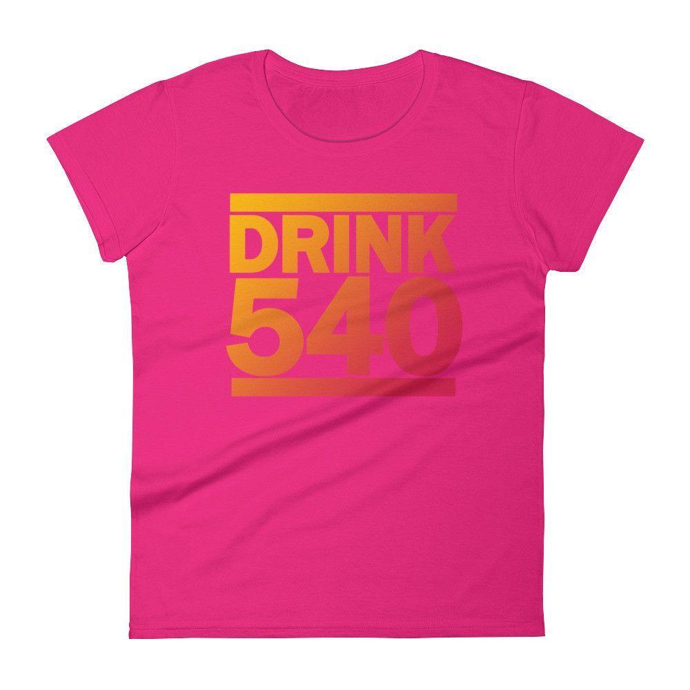 DRINK Virginia 540 Ladies' Short Sleeve T-Shirt
