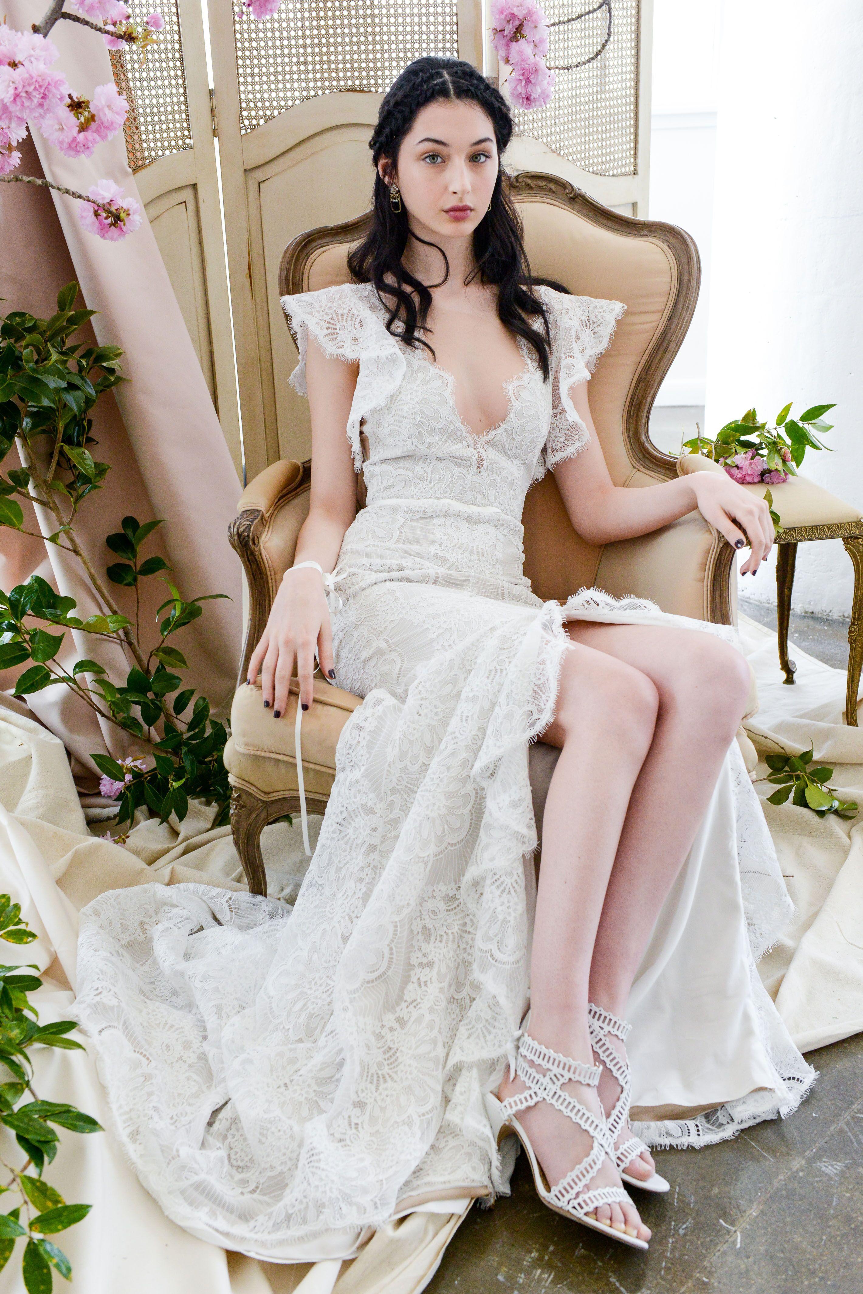 A Ss18 Marchesa Notte Bridal Look
