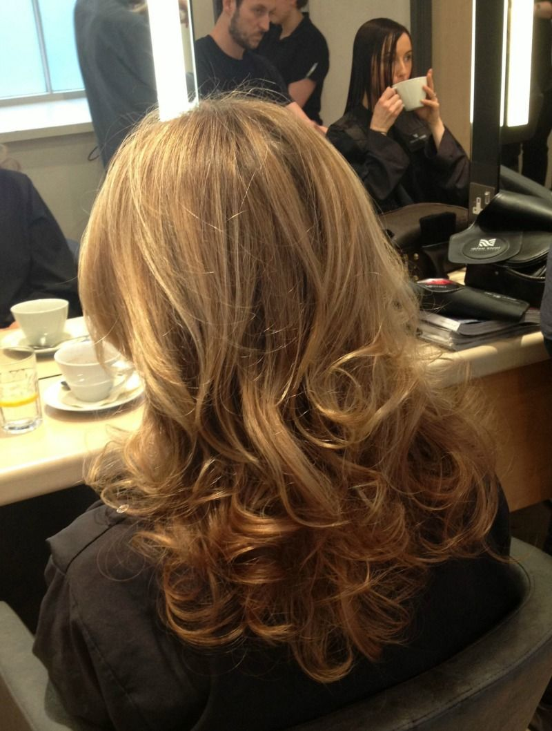 I got the perfect blow dry at Trevor Sorbie  Hair  Hair