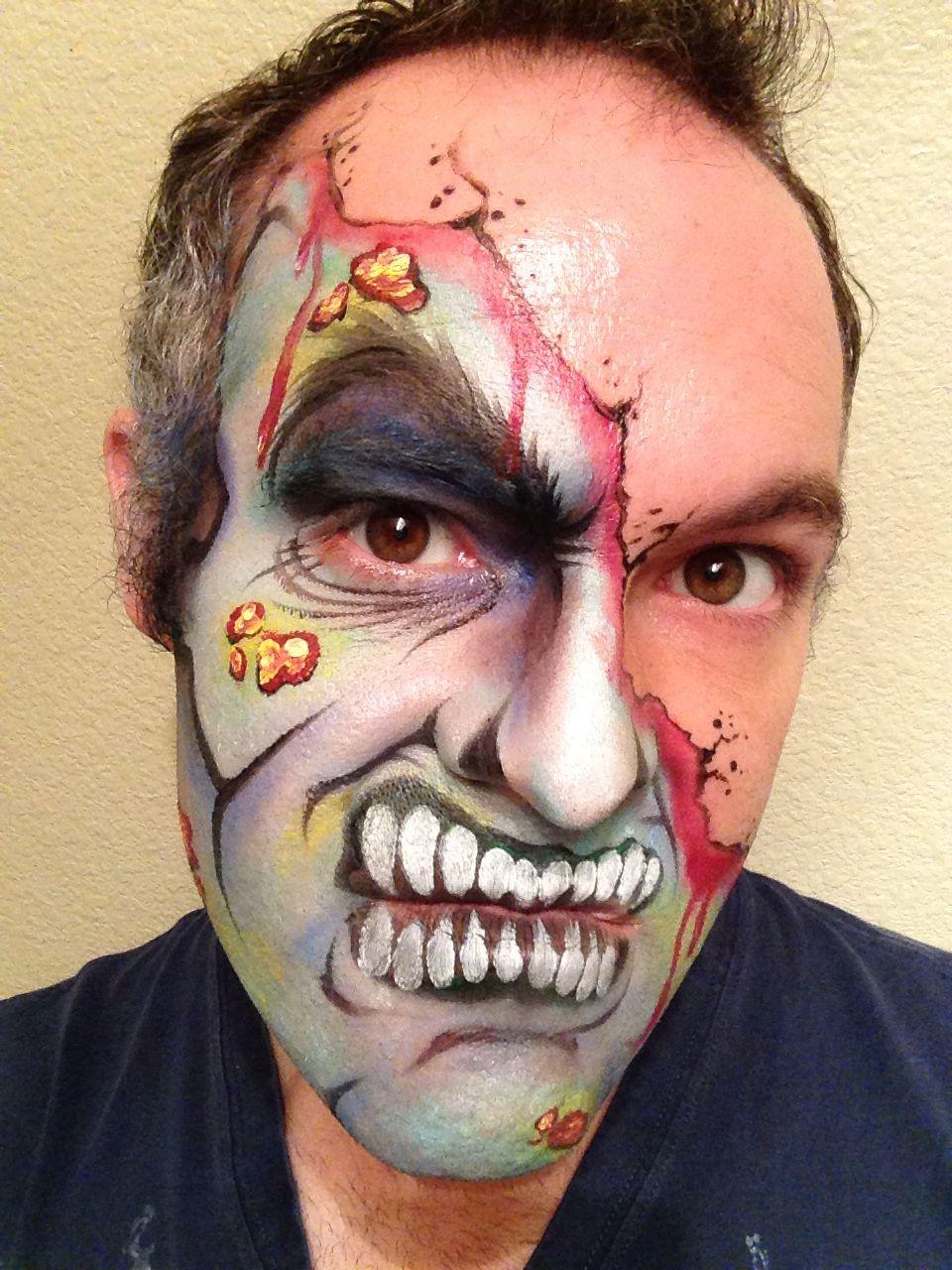 Face Painting by John Lanzillo