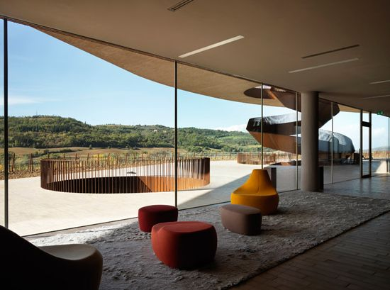 The Cantina Antinori winery, Italy, Florence