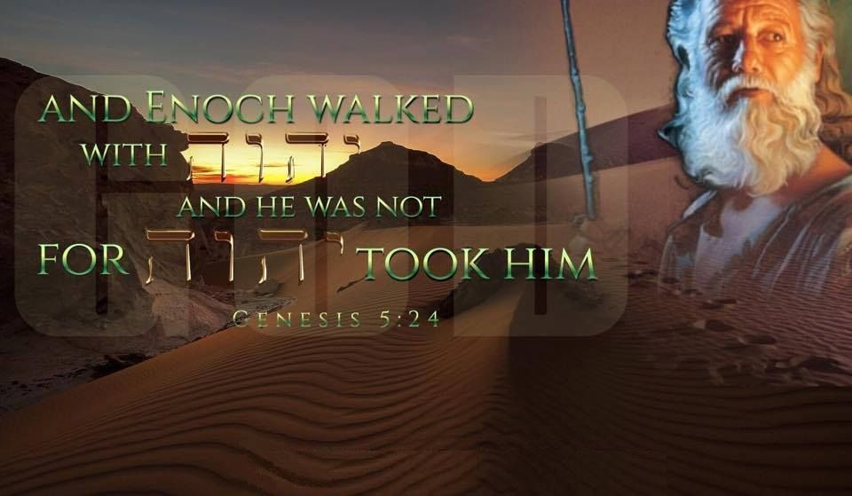Image result for a new beginning with God walking like Enoch