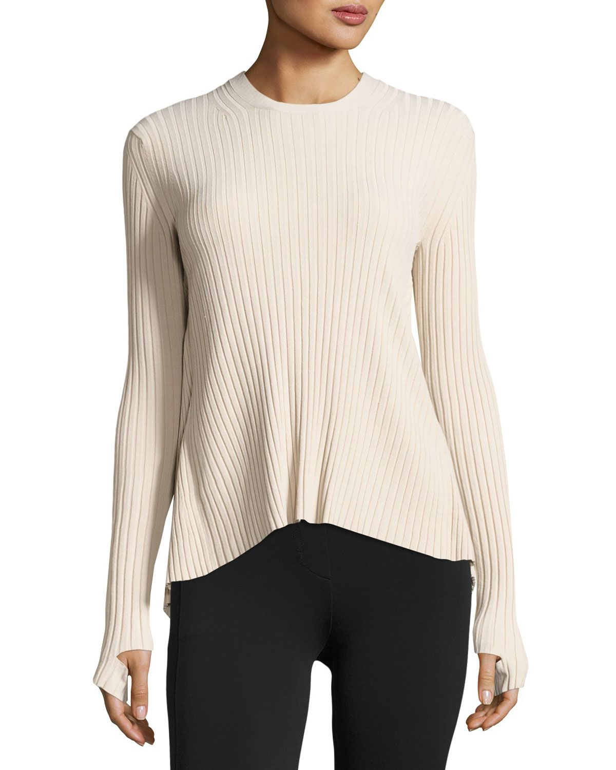 Women's Sweater with Tie