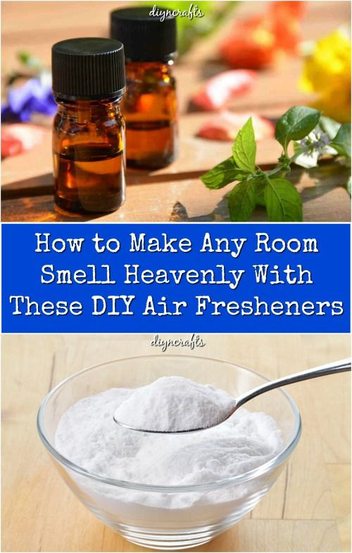 How to Make Any Room Smell Heavenly With These DIY Air Fresheners ...