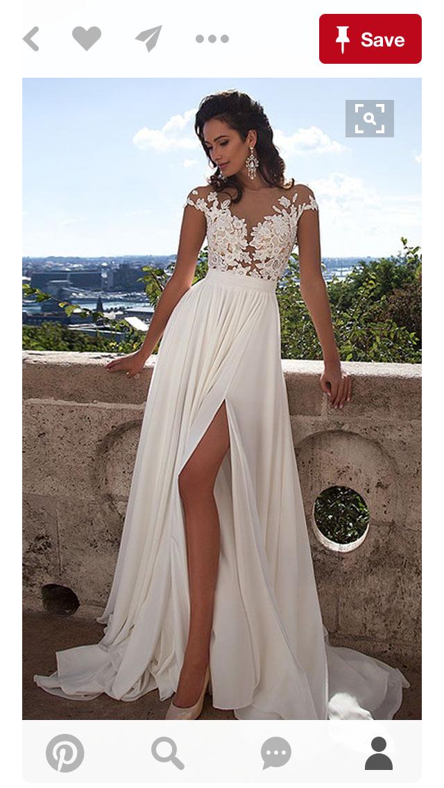 Hochzeit am strand welches kleid