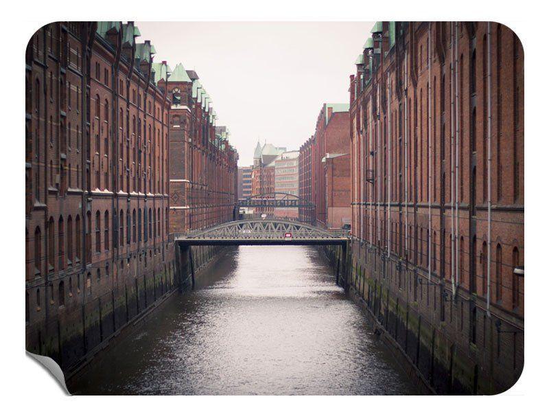 Hamburg Hafencity Klebefolie